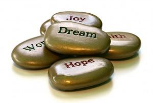 Motivation Message Stones