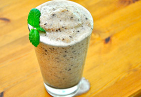 Chocolate Mint Protein Shake