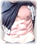 Bob's ripped abs