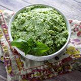 Garlic Mashed Cauliflower with Kale
