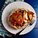 BBQ Chicken En Papillote