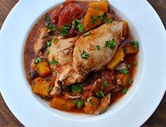 Taste of Italy Slow Cooker Chicken