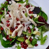 Wine Poached Chicken Salad
