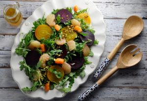 Beet and Grapefruit Salad