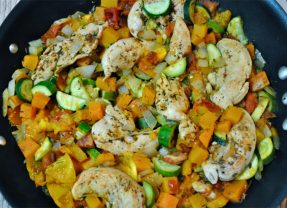 One Pot Chicken and Veggie Dinner