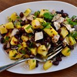 Mango and Black Bean Chicken Salad