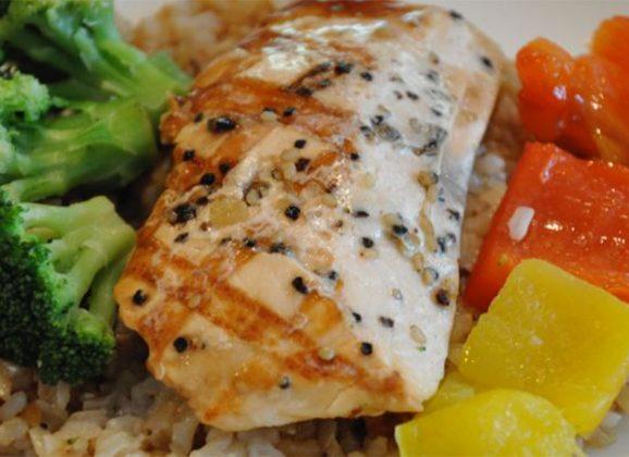 Favorite Sesame Salmon