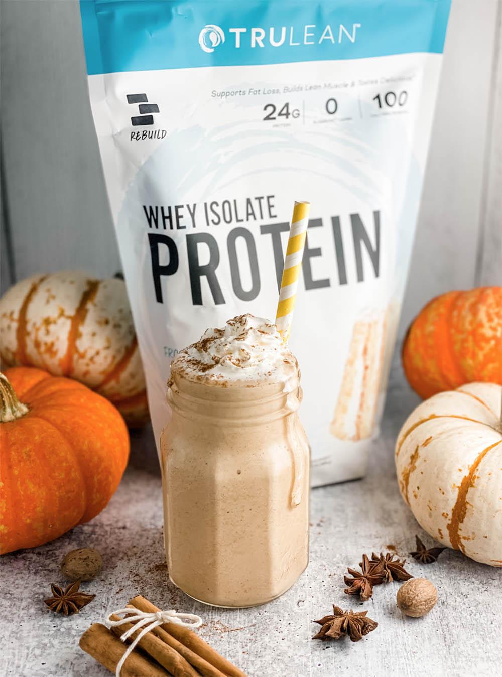 Protein Pumpkin Spice Frappuccino