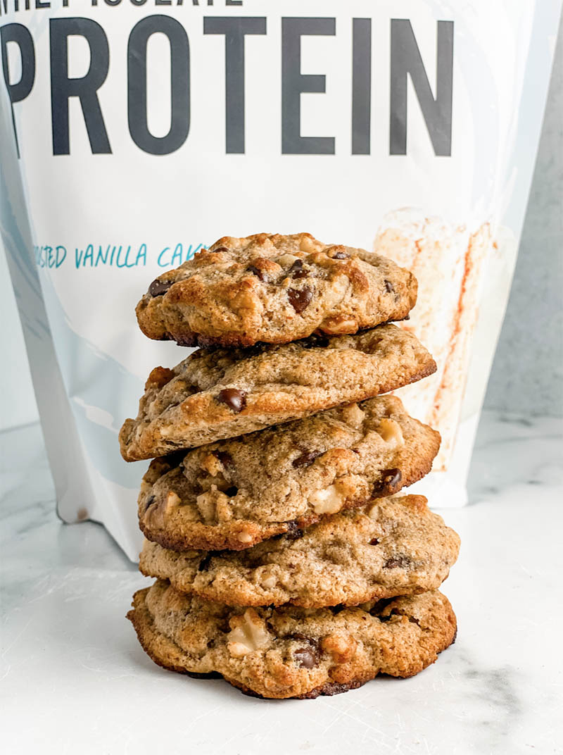 BEST Protein Chocolate Chip Cookies