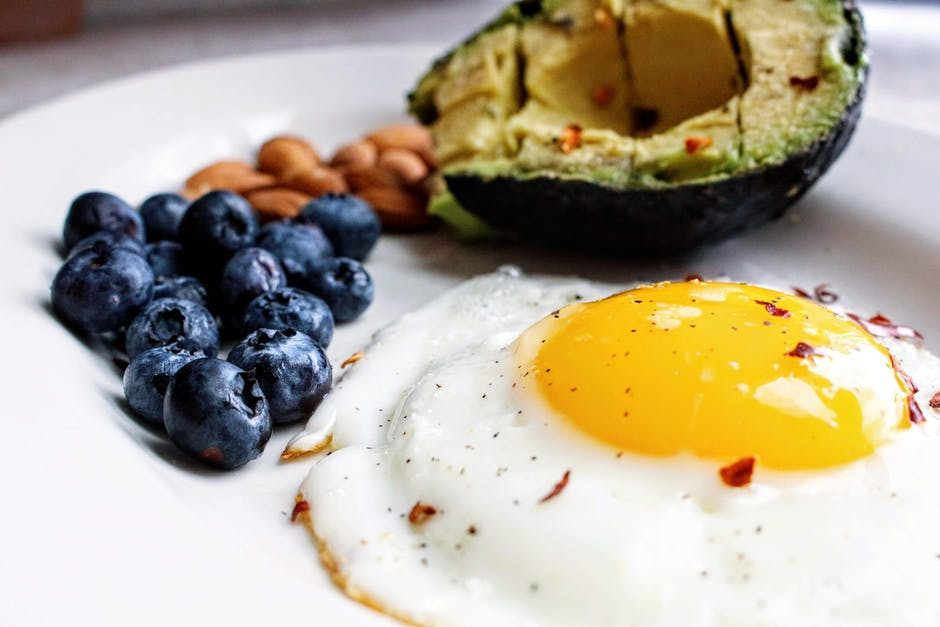 Example of a healthy diet breakfast